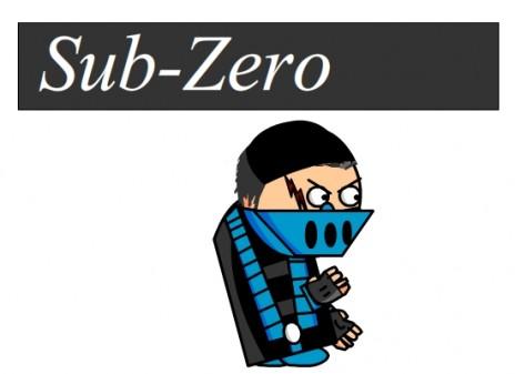 SUB-ZERO IN ACTION BABY >:(
