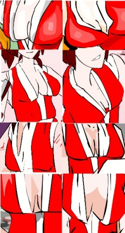 Development of the Sakazakis: Mai's Chest