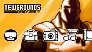 Newgrounds Psp Stamper Theme