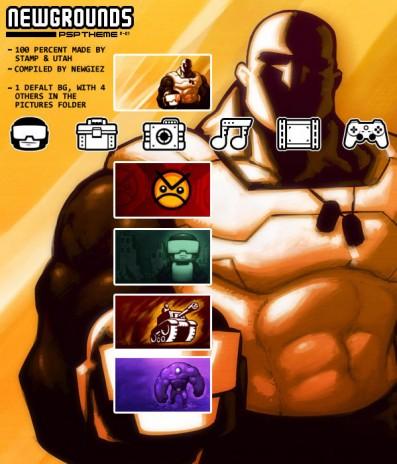 NG Playstaion Portable Theme