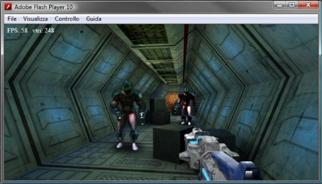 3D real-time engine for Flashgame ...puf....pant... we did it!