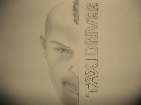 Taxi Driver Illistration