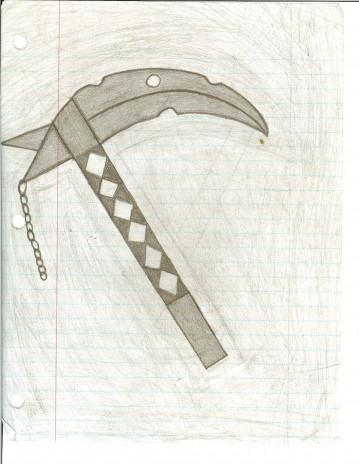 A scythe