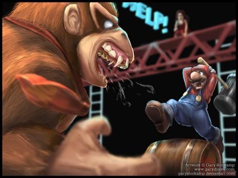 Donkey Kong Arcade Returns!