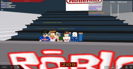 My roblox account.