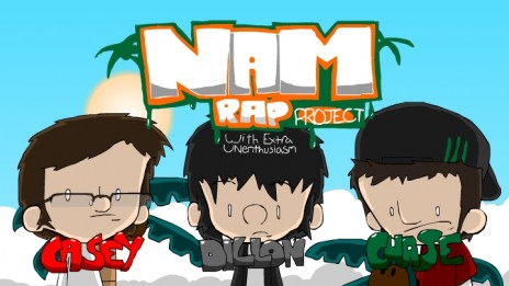 NEW CARTOON!! The VietNAM Rap Project!