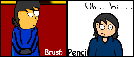 Brush Tool vs. Pencil Tool