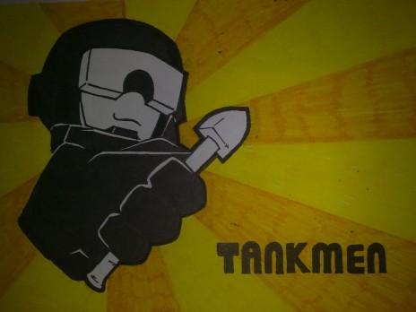 Made this in appreciation for TANKMEN!!!!