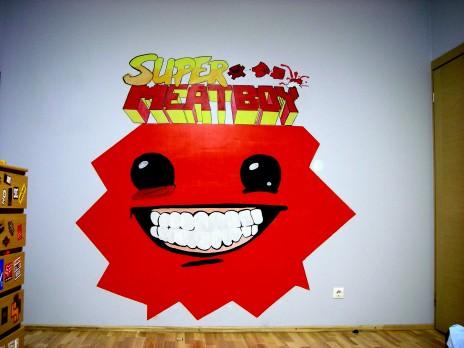 """""""SMB"""" Wall art"""