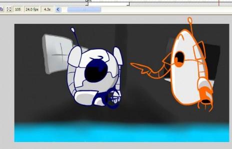 Portal 2 Animation