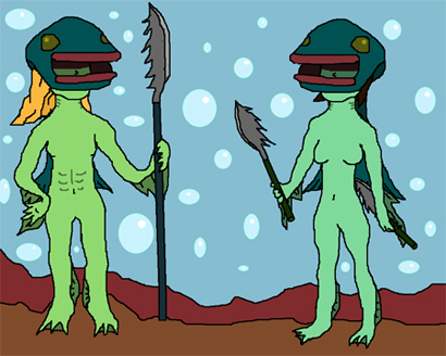 FISH WARRIORS. Aka Zoras