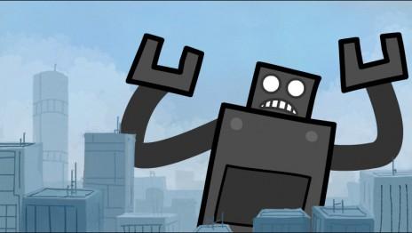 New cartoon for Robotday!