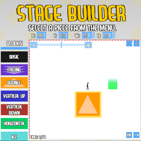 Vexation 2 Weekly Post - Stage Builder
