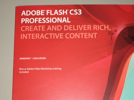I Got Flash CS3 Today =)