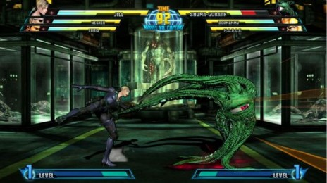 Marvel vs Capcom 3: Jill Valentine and Shuma-Gorath