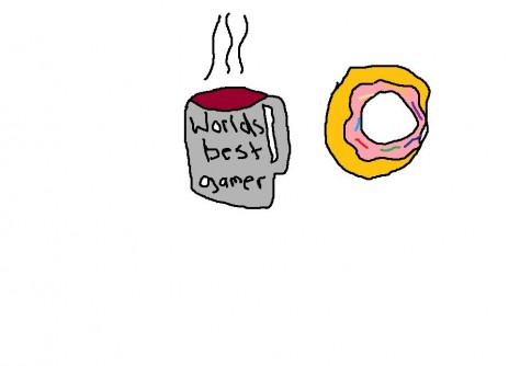 doughnut eatin' time