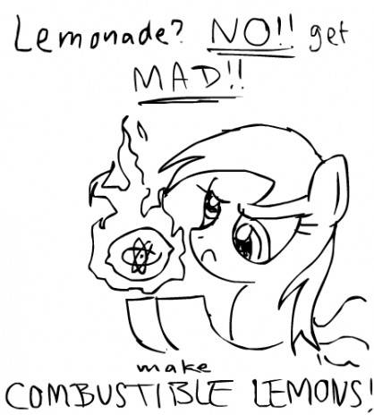 Ponycraft comics / When life gives you lemons...
