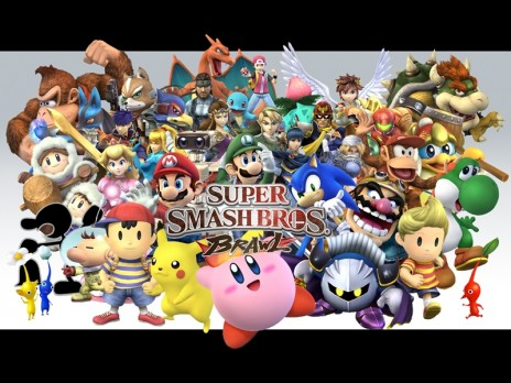super smach brothers brawl all characters