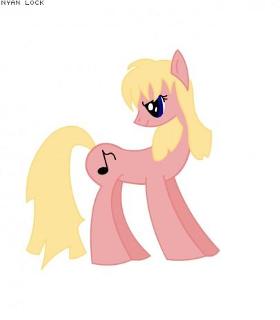 Me as a pony.