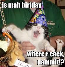 Wee taht is my birthday