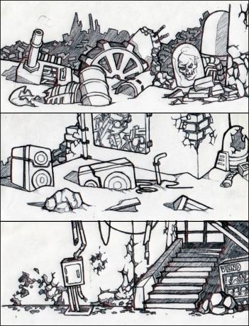 MR2 Background Sketches