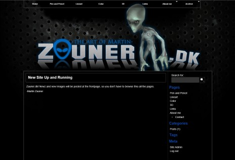 New Webpage Soon available at Zauner.dk