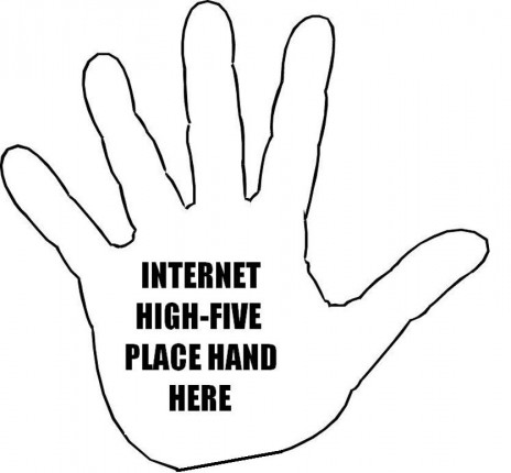 High-five!