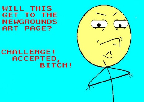 CHALLENGE ACCEPTED!!!!!