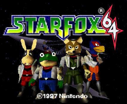 I'm hooked on Starfox 64