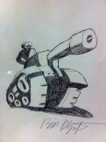 Bill Plympton Tank Logo