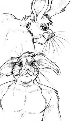 >(^-^)< Bunny Study 101