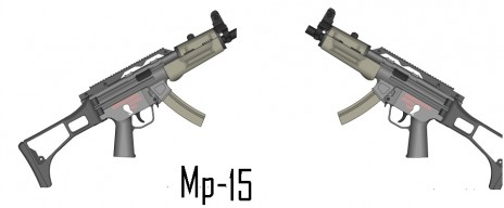 MP-15 futuristic SMG