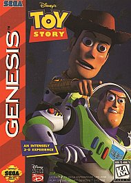 SEGA Genesis version of Toy Story is a pretty good game