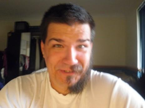 half beard.