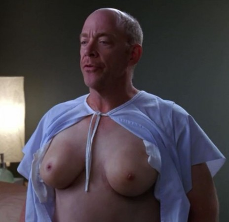 JK Simmons with Boobs