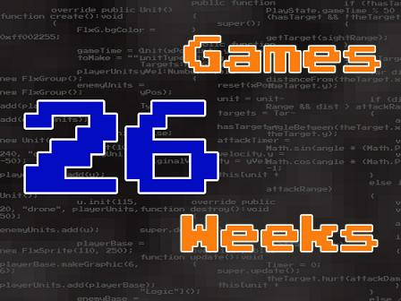 26 Games 26 Weeks