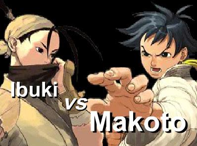 Ibuki vs Makoto 2