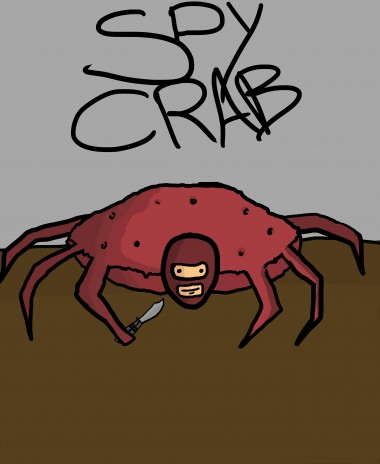 Spy Crab drawing