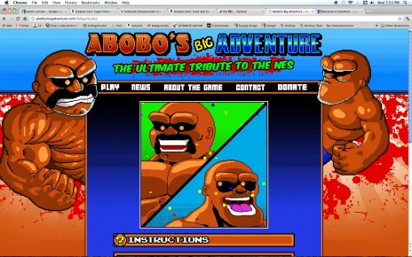 Go Play Abobo's Big Adventure
