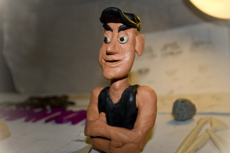 My 3rd claymation. Go go go!