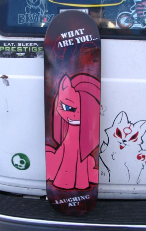 Skateboards CAN BE art!