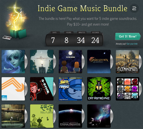 GameMusicBundle Giveaway.