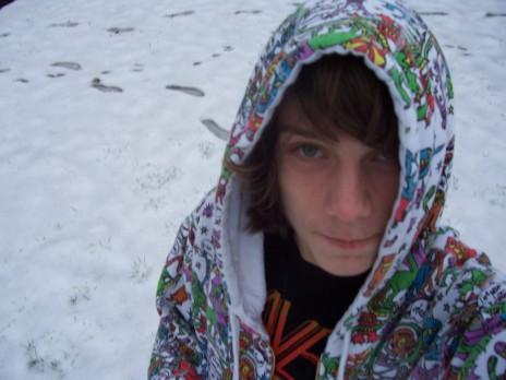 It's snowing! :D