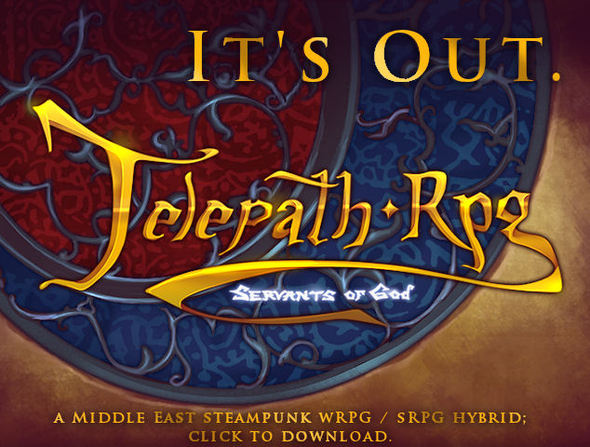 Telepath RPG: Servants of God is out!