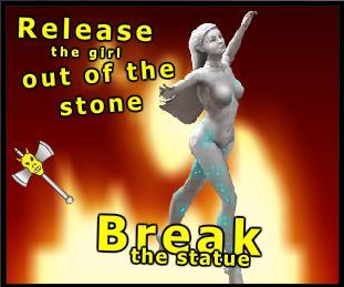 Breaking the statue? No way!