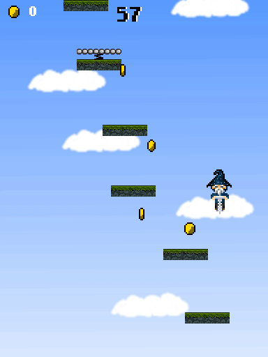 Check out my new game - Wizard Jump - ALPHA TEST OPENED