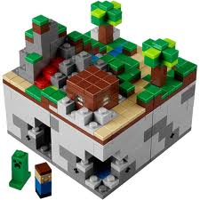 lego minecraft is real!