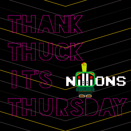 """Thank Thuck It's Thursday"""