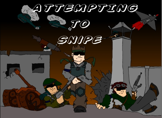 New animation: Attempting to snipe!