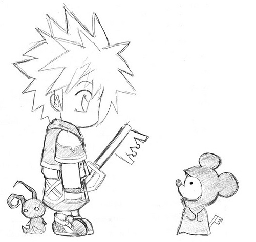 Kingdom Hearts Dearly Beloved <3